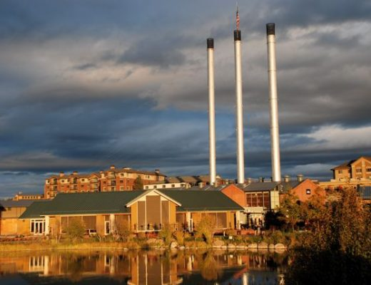 Old Mill District Bend Oregon